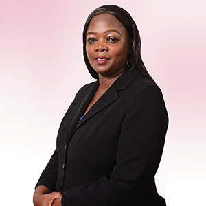 Mrs. Yvonne Masinde - Ag. Chief Manager, Legal Affairs & Company Secretary