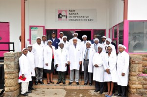 Group photo with the Dandora Factory Team and Management Staff