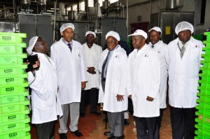 On Tour of the Dandora Factory Complex